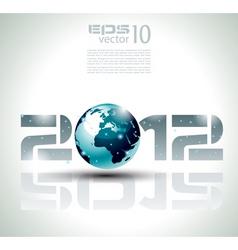 high tech 2012 vector image vector image