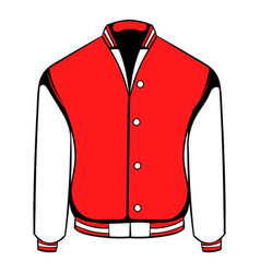 sport jacket icon icon cartoon vector image