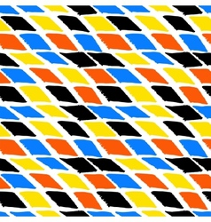 Colorful bold harlequin pattern vector