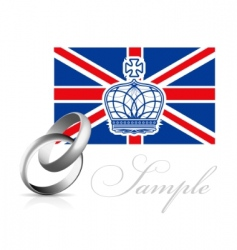 royal wedding in England vector image