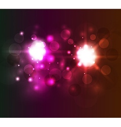 Bright abstract background with circles vector