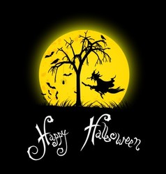 Happy Halloween Background vector image vector image