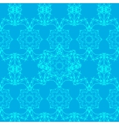 Mandala seamless tribal vintage background with a vector image