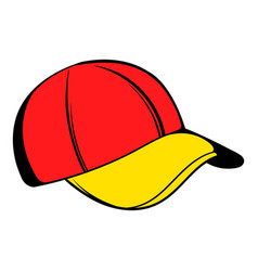 Baseball cap icon icon cartoon vector