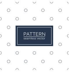 Circles minimalistic pattern - seamless vector