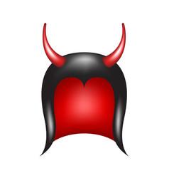 Devil horns vector