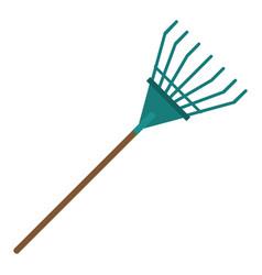 Rake tool gardening image vector