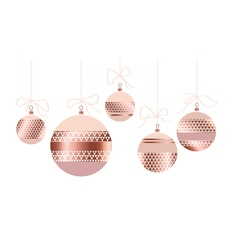 Rosy pastel color and gold metal texture vector