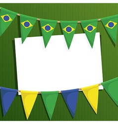 Brazil decoration vector