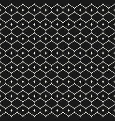 seamless mesh pattern ornament geometric texture vector image
