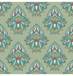 Luxury Damask vintage seamless pattern vector image