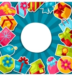 Celebration background or card with colorful vector