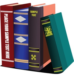 books vector image