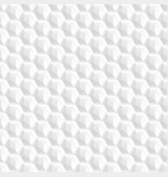 decorative texture - seamless white shapes vector image