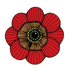 flower 209 03 vector image
