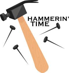 Hammerin time vector