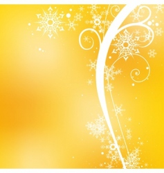 yellow blurry background vector image vector image
