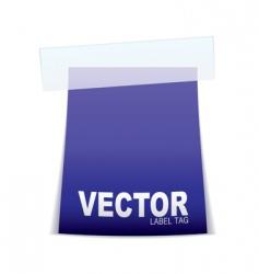 label tag icon vector image
