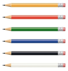 Pencil collection vector
