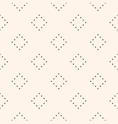 seamless pattern minimalist texture with dotted vector image vector image
