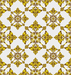 thai pattern vector image vector image