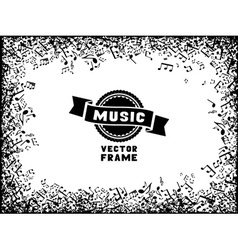 Music frame vector