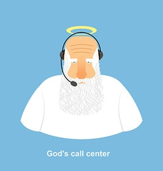 Gods call center divine call center god and vector