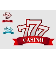 Casino gambling symbol vector