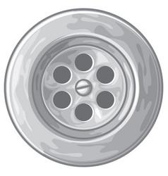 sink or bath vector image vector image