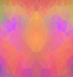 Symmetric polygonal pattern vector