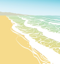 Seashore vector image