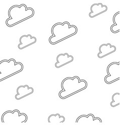 Wallpaper cloud abstract draw vector