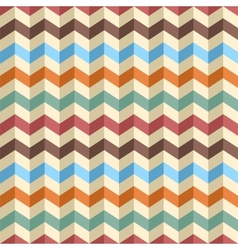 Seamless zig-zag chevron pattern vector