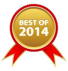 Best badge vector image vector image