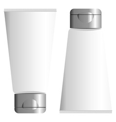 blank packing tube vector image vector image