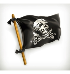 Jolly Roger icon vector image vector image