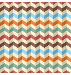 Seamless zig-zag chevron pattern vector image