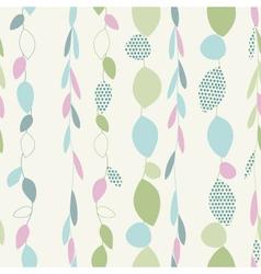 Light floral vintage seamless pattern vector image