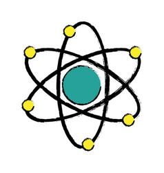 Atom molecule biology science structure vector
