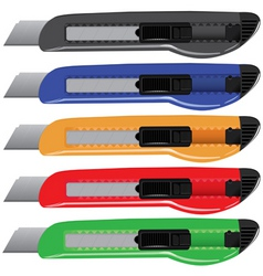 Paperknife set vector