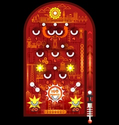 Pinball playfield vector