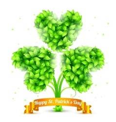 St Patrick Day Congratulation vector image vector image
