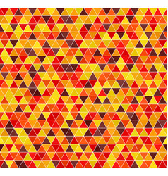 Triangle pattern seamless background autumn vector