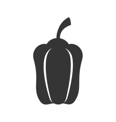 pepper vegetable food icon graphic vector image