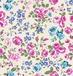 classic cream roses vector image