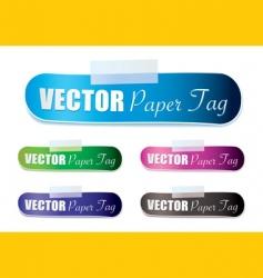 Lozenge tag vector