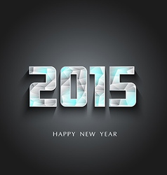 Glaciers 2015 happy new year vector