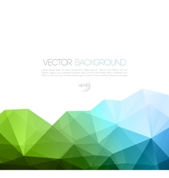 Abstract geometric background with triangle vector