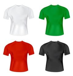 mens tshirt vector image