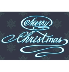Printhappy merry christmas hand lettering vector